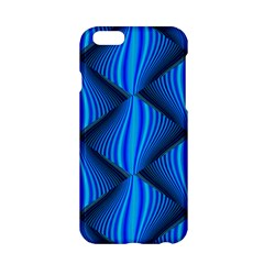 Abstract Waves Motion Psychedelic Apple Iphone 6/6s Hardshell Case by Nexatart