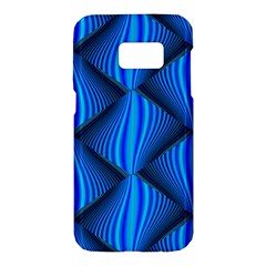 Abstract Waves Motion Psychedelic Samsung Galaxy S7 Hardshell Case