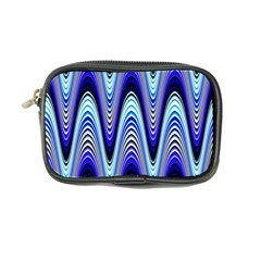 Waves Wavy Blue Pale Cobalt Navy Coin Purse