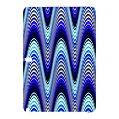 Waves Wavy Blue Pale Cobalt Navy Samsung Galaxy Tab Pro 12 2 Hardshell Case