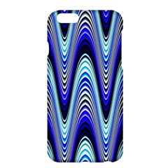 Waves Wavy Blue Pale Cobalt Navy Apple Iphone 6 Plus/6s Plus Hardshell Case