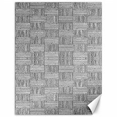 Texture Wood Grain Grey Gray Canvas 12  X 16