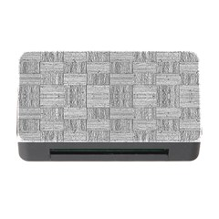 Texture Wood Grain Grey Gray Memory Card Reader With Cf