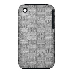 Texture Wood Grain Grey Gray Iphone 3s/3gs