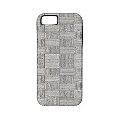 Texture Wood Grain Grey Gray Apple Iphone 5 Classic Hardshell Case (pc+silicone)