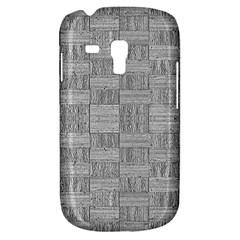 Texture Wood Grain Grey Gray Galaxy S3 Mini