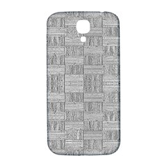 Texture Wood Grain Grey Gray Samsung Galaxy S4 I9500/i9505  Hardshell Back Case