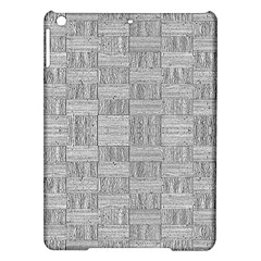 Texture Wood Grain Grey Gray Ipad Air Hardshell Cases