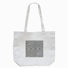 Texture Wood Grain Grey Gray Tote Bag (white) by Nexatart