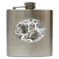 Coquina Shell Limestone Rocks Hip Flask (6 Oz)