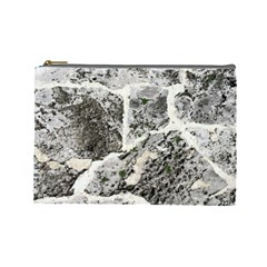 Coquina Shell Limestone Rocks Cosmetic Bag (large)
