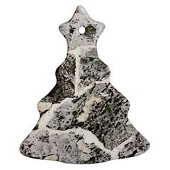Coquina Shell Limestone Rocks Ornament (christmas Tree)