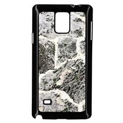 Coquina Shell Limestone Rocks Samsung Galaxy Note 4 Case (black)