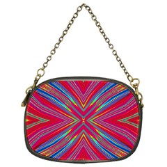 Burst Radiate Glow Vivid Colorful Chain Purses (two Sides)