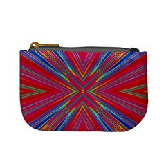 Burst Radiate Glow Vivid Colorful Mini Coin Purses