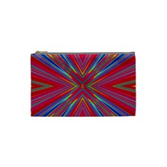 Burst Radiate Glow Vivid Colorful Cosmetic Bag (small)