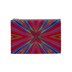 Burst Radiate Glow Vivid Colorful Cosmetic Bag (medium)