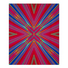 Burst Radiate Glow Vivid Colorful Shower Curtain 60  X 72  (medium)
