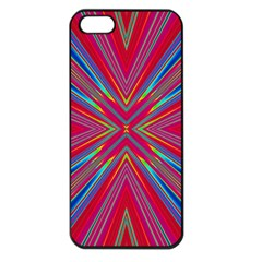 Burst Radiate Glow Vivid Colorful Apple Iphone 5 Seamless Case (black)
