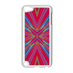 Burst Radiate Glow Vivid Colorful Apple Ipod Touch 5 Case (white)