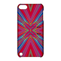 Burst Radiate Glow Vivid Colorful Apple Ipod Touch 5 Hardshell Case With Stand