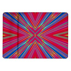 Burst Radiate Glow Vivid Colorful Samsung Galaxy Tab 10 1  P7500 Flip Case