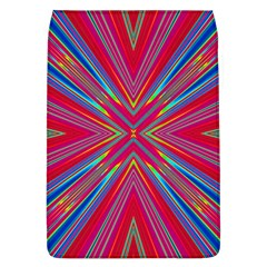 Burst Radiate Glow Vivid Colorful Flap Covers (l)