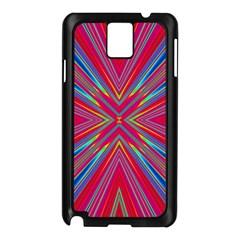 Burst Radiate Glow Vivid Colorful Samsung Galaxy Note 3 N9005 Case (black)