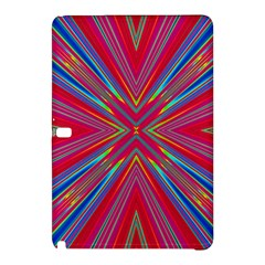 Burst Radiate Glow Vivid Colorful Samsung Galaxy Tab Pro 12 2 Hardshell Case by Nexatart