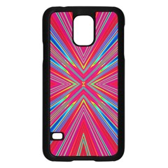 Burst Radiate Glow Vivid Colorful Samsung Galaxy S5 Case (black)