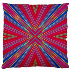 Burst Radiate Glow Vivid Colorful Standard Flano Cushion Case (one Side)