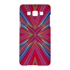 Burst Radiate Glow Vivid Colorful Samsung Galaxy A5 Hardshell Case