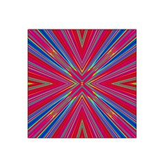 Burst Radiate Glow Vivid Colorful Satin Bandana Scarf