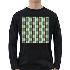 Fabric Textile Texture Green White Long Sleeve Dark T Shirts