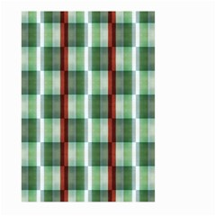 Fabric Textile Texture Green White Large Garden Flag (two Sides)