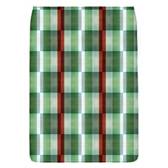 Fabric Textile Texture Green White Flap Covers (s)