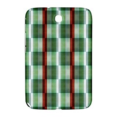 Fabric Textile Texture Green White Samsung Galaxy Note 8 0 N5100 Hardshell Case