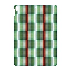 Fabric Textile Texture Green White Apple Ipad Pro 10 5   Hardshell Case
