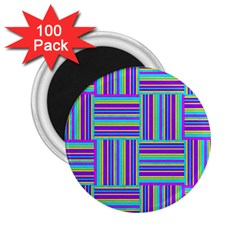 Geometric Textile Texture Surface 2 25  Magnets (100 Pack)