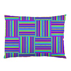 Geometric Textile Texture Surface Pillow Case