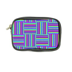Geometric Textile Texture Surface Coin Purse by Nexatart