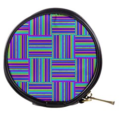Geometric Textile Texture Surface Mini Makeup Bags