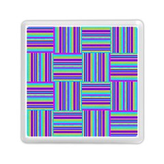 Geometric Textile Texture Surface Memory Card Reader (square)