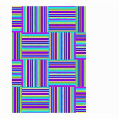 Geometric Textile Texture Surface Small Garden Flag (two Sides)