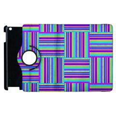 Geometric Textile Texture Surface Apple Ipad 2 Flip 360 Case