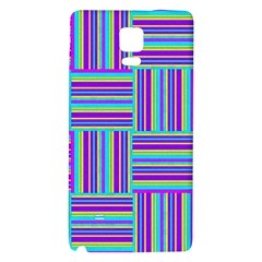 Geometric Textile Texture Surface Galaxy Note 4 Back Case