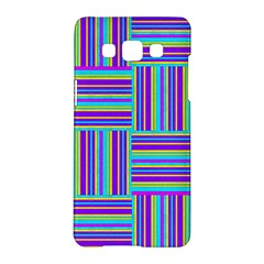 Geometric Textile Texture Surface Samsung Galaxy A5 Hardshell Case
