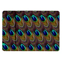 Peacock Feathers Bird Plumage Samsung Galaxy Tab 10 1  P7500 Flip Case
