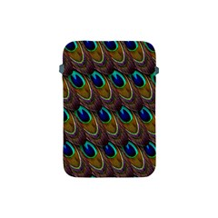 Peacock Feathers Bird Plumage Apple Ipad Mini Protective Soft Cases