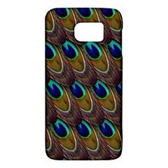 Peacock Feathers Bird Plumage Galaxy S6